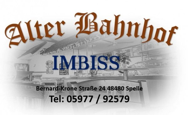 IMBISS Alter Bahnhof Spelle Logo